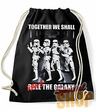 ZAINO / BORSA  STAR WARS INSIEME FAREMO RAVE THE GALAXY FUNNY  BAG/BACKPACK