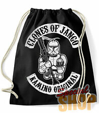 ZAINO / BORSA CLONI OF JANGO STAR WARS FUNNY  BAG/BACKPACK