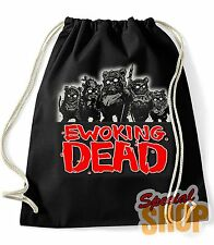 "BORSA ZAINO ""EWOKING DEAD"" STAR WARS THE WALKING DEAD PARODIA BAG BACKPACK"