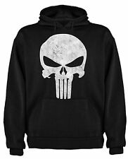FELPA THE PUNISHER TESCHIO SKULL FUMETTI T-SHIRT MAGLIETTE HOODIE SIL CCp003