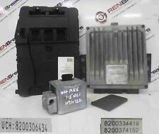 Renault Megane 2002-2008 1.5 dCi ECU SET UCH BCM Immobiliser + Key Card