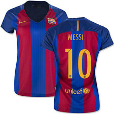 NIKE LIONEL MESSI FC BARCELONA WOMENS HOME JERSEY 2016/17