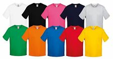 Fruit of the Loom KIDS CAMISETA sofspun diferentes colores 104-164 NUEVO