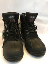 """NEW NEW Men's Winter Snow Boots Stylish Warm 6"""" Insulated Hiking YC1 8.5 - 13"""