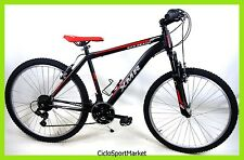 "Bicicletta MTB Mountain Bike In Acciaio ""KITE BEACH"" CAMBIO SHIMANO 18v"