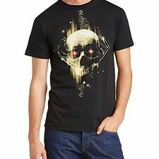 Superman Man of Steel - Dark Skull T Shirt Size:L - NEW & OFFICIAL