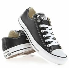 Original Adulte Converse - All Star Chaussures Cuir Noir Ox UK 3 à 11 Unisexe