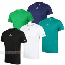 adidas Mens Sequencials climalite Reflective Running T-Shirt Gym Tee Top Shirt