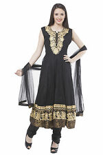 Fasense Ethnic Wear Net Long Anarkali Salwar Suit Churidar VG046 C
