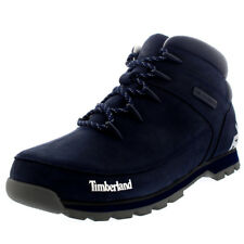 Mens Timberland Euro Sprint Hiker Black Iris Leather Winter Ankle Boots UK 7-12