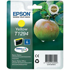 GENUINO EPSON APPLE SERIE AMARILLO CARTUCHO DE TINTA C13T12944010 / T1294