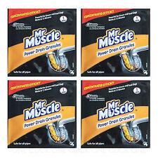 Mr Muscle Power Drain Granules 50g Grease Amp Food Clogs