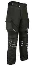 Gears Pro Motorbike Motorcycle Textile Trousers Pants Waterproof CE Armoured
