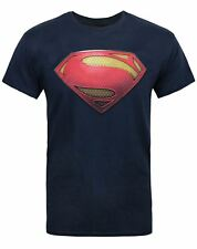 DC Comics Superman Man of Steel Textured Men's T-Shirt