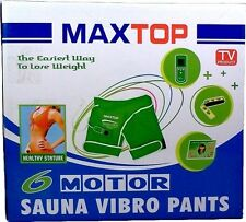 Sauna pants Maxtop vibro - vibrating sauna pants Flat 60% OFF