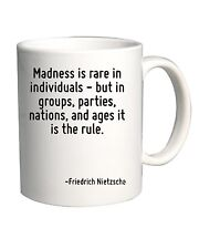 Tazza 11oz CIT0160 Madness is rare in individuals - but in groups, parties, nati
