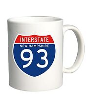 Tazza 11oz TSTEM0044 interstate 93 nh