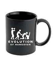 Tazza 11oz BEER0217 Evolution-Of-Hangover-Magliette