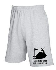 Pantalone Tuta Corto TLOVE0013 i like big putts white