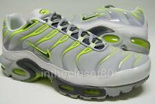Nike Air Max Plus Tn Tuned 1 Wolf Grey White Volt Lime Green Mens Trainers