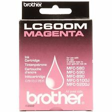 ORIGINAL OEM BROTHER LC600M MAGENTA (ROSA) CARTUCHO DE TINTA