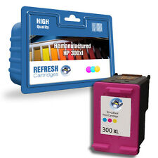 1 COLOR REMANUFACTURADO HP HEWLETT PACKARD CARTUCHO DE TINTA HP300XL HP 300XL