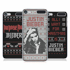 OFFICIAL JUSTIN BIEBER KNITTED CHRISTMAS HARD BACK CASE FOR APPLE iPOD TOUCH MP3