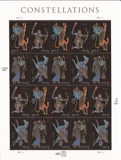 US Stamps - 2005 Constellations - 20 Stamp Sheet   #3945-48