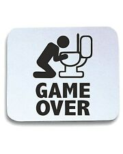 Tappetino Mouse Pad BEER0060 Game over puke toilet