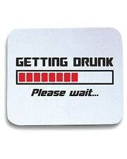 Tappetino Mouse Pad BEER0222 Getting Drunk Please Wait Loading Bar