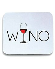 Tappetino Mouse Pad BEER0302 Wino Wine Lover Glass