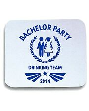 Tappetino Mouse Pad MAT0004 Bachelor Party 2014 Team Maglietta
