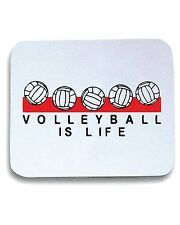 Tappetino Mouse Pad OLDENG00293 volleyball is life