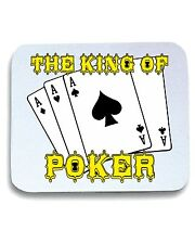 Tappetino Mouse Pad T0255 THE KING OF POKER fun cool geek