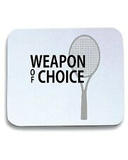 Tappetino Mouse Pad T0938 tennis weapon of choice sport