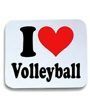 Tappetino Mouse Pad TLOVE0010 i heart volleyball