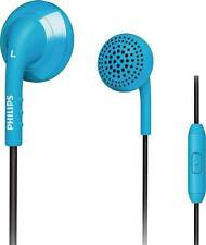 Philips SHE2675BB/28 Wired Headset With Mic  (Blue) Flat 35% Off