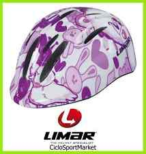 "Casco Limar Ciclismo Ideale Per Bambina 124 Superlight ""Tweet"" Taglia S"