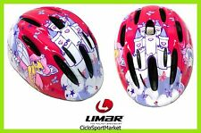 "Casco Limar Ciclismo Ideale Per Bambina 124 Superlight ""Wonderland"" Taglia S"
