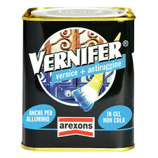 VERNIFER AREXONS PITTURA SMALTO GEL BRILLANTE VERNICE ANTIRUGGINE 2 in 1 0,750ml