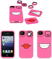 Griffin GB03654 Faces Case for iPhone 4S (Pink) Flat 70% OFF