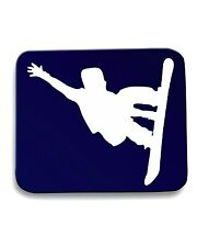 Tappetino Mouse Pad OLDENG00360 snowboarder