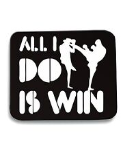 Tappetino Mouse Pad OLDENG00379 all i do is win kickboxing