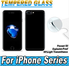For Apple iPhone 6/S Plus Temper Glass Front + Back Screen Protector 2.5D Guard