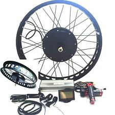 LCD + Disc Brake+3000W kit vélo électrique kit de conversion E Bike