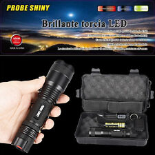 X800 Shadowhawk 5000LM Zoomable XML T6 LED Tactical Flashlight+18650 Battery Lot