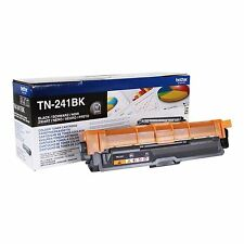 AUTENTICO Brother TN-241BK (TN241) NERO STAMPANTE LASER CARTUCCIA DEL TONER