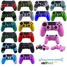 CUSTODIA COVER CONTROLLER PLAY STATION 4 PS4 SILICONE JOYPAD 25 COL. SPED.RAPIDA