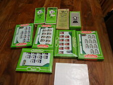Subbuteo Job Lot - 8 Sets Players plus FA Cup plus Poster - See Description