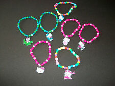 HELLO KITTY ELASTICATED BEAD BRACELETS
